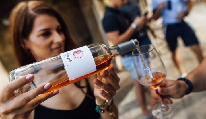 Hiša vin Rondič rose